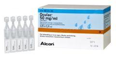 OCULAC 50 mg/ml silmätipat, liuos, kerta-annospakkaus 120x0,4 ml