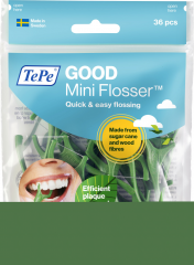 TePe GOOD Mini Flosser hammaslankain 36 kpl