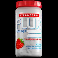 Flux Strawberry fluoritabletti 300 imeskelytabl
